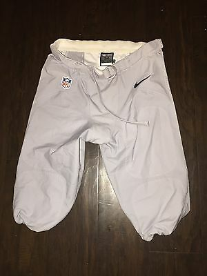 Authentic Seattle Seahawks Player Worn Football Pants 34 Wolf Gray