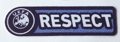 Uefa Respect Patch 2008-2012 Champions League / Euro 2012 / Europa League Badge
