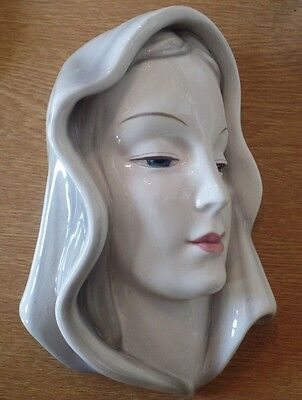 Art Deco Goldscheider Vienna Wall Mask