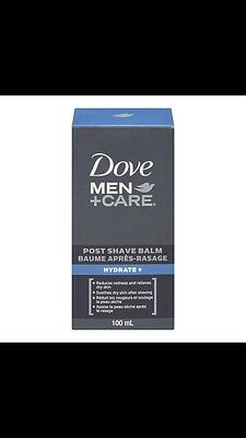 BNIB Dove Men+Care Post Shave Balm Hydrate+ 100ml