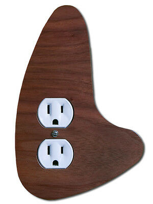Mid Century Modern Outlet Cover Right | Mid Century Switch Plate