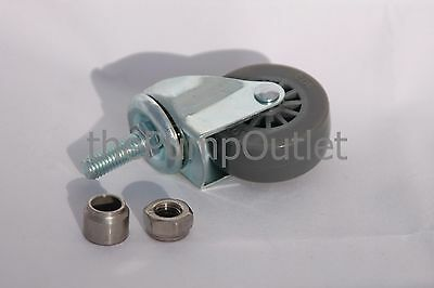 A+ SC21-SC24 Surface Cleaner Caster w/ Spacer & Nut