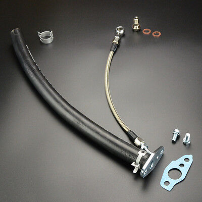 Turbo Oil Feed Drain Line Kit TOYOTA starlet 4EFTE w/CT9 CT20 CT26