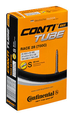 10 X Continental Race 28 700c Road Inner Tubes (Boxed) 42/60/80mm Presta 20-25