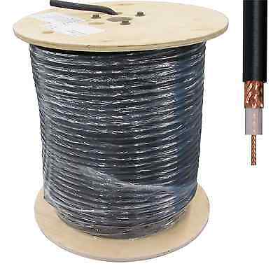 RG213 XS66 MIL-SPEC 100m Drum Low Loss 50 Ohm COAX Feeder Cable