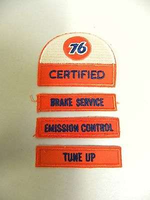Lot UNUSED Vintage UNION 76 Oil Gasoline Advertising Service Station Patch (A7)