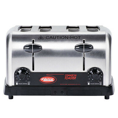 Hatco TPT-120 Pop-Up Toaster with 4 Slots and Removable Crumb Tray
