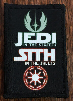Star Wars Sith in the Sheets Morale Patch Funny Military Tactical Army Flag USA