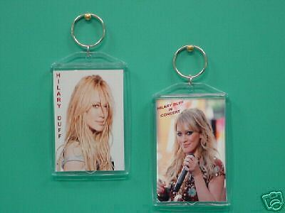 HILARY DUFF - with 2 Photos - Designer Collectible GIFT Keychain