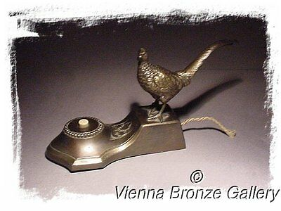 A good old Austrian Bell Push with a Pheasant