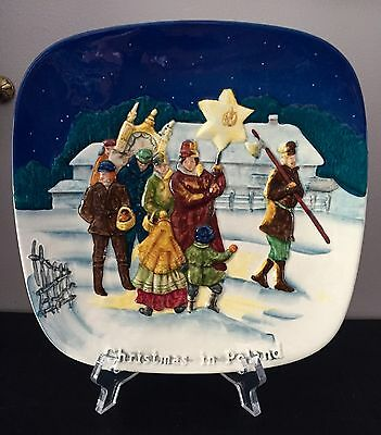 Beautiful Embossed Beswick Wall/cabinet Plaque - CHRISTMAS IN POLAND Ltd Edition