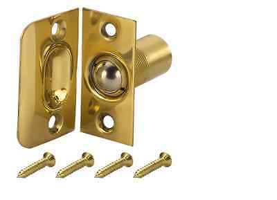 New Gatehouse Replacement Solid Brass Door Ball Catch