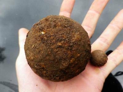 (1800 Ad): France- Napoleon - Waterloo Big Canon Ball - 2 Kg !!! Rare !!!