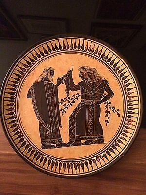 Ancient Greek Art: Dionysus & Maenads PLATE NR. 3 CUP EXACT COPY 550 BC