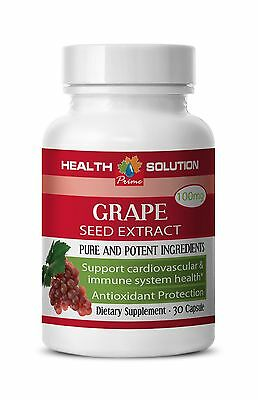 Immune System Recovery - Grape Seed Extract 90% 150 - Grape Seed Resveratrol 1B