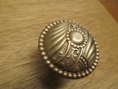 Nice Brass?? Eastlake?? Roanoke Door Knob Ornate Detail