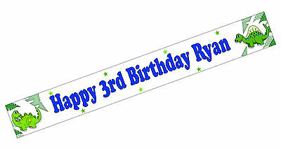 PERSONALISED BANNERS NAME AGE PHOTOS BIRTHDAY PARTY BOY GIRL 17TH 18TH 19TH A6