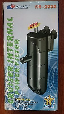 Resun cs-2000 internal fish tank filter.
