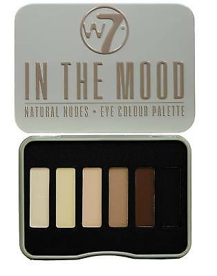 W7 Eyeshadow Eye Shadow Palette - In the mood Natural Nudes 6 shades