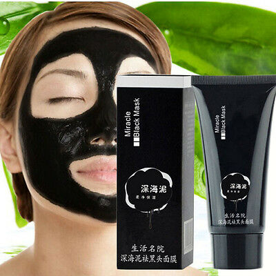 Face Nose Mask Blackhead Acne Remover Pores Mud Nose Mask Cleansing Treatment