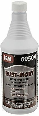 SEM 69504 Rust-Mort Rust Preventive Coating Black 1 Quart