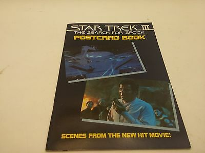 Star Trek III Postcard Book Search For Spock