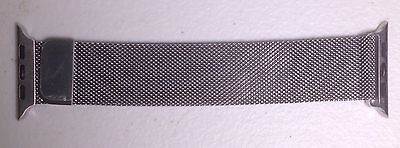 Genuine Apple Watch 42 mm Milanese Loop Silver 316L Stainless Steel MJ5F2ZM/A