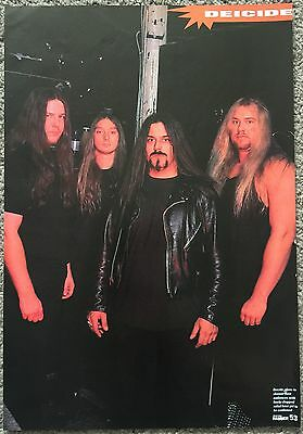 DEICIDE - 1998 full page magazine poster