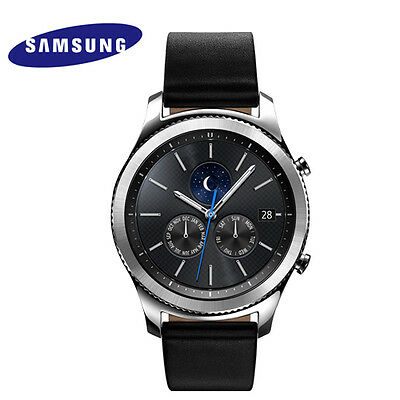 SAMSUNG GALAXY GEAR S3 CLASSIC Wi-Fi Bluetooth Smart Watch SM-R770