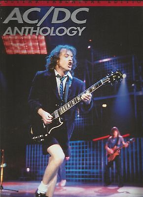 AC/DC Anthology Guitar Tab Tablature Song Book Used