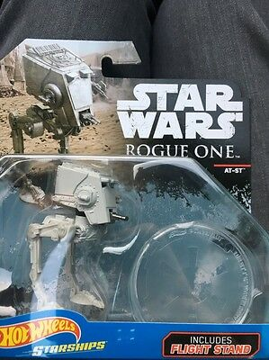 Hot Wheels 2017  Star Wars Starships Rogue One Imperial At-St Brand New Rare !!