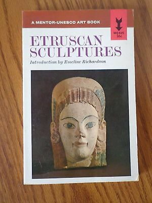 Unesco Ancient Etruscan Sculptures 1966 First Printing