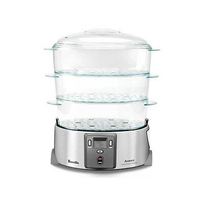 Breville Avance HealthSmart Food Steamer with 3 Tiers Brand New