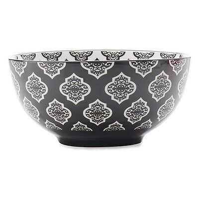 Christopher Vine Alcazar 15.5cm Circle Bowl Black Brand New