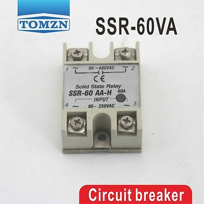 60VA SSR input 470KO/2W load 24-380V Voltage regulater Solid state regaly