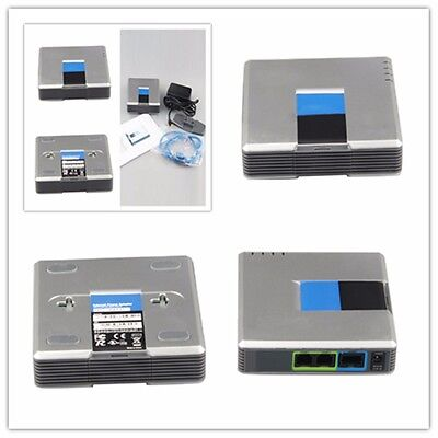 Unlocked Linksys PAP2T-NA VOIP Phone Adapter with 2 FXS Phone ports PAP2 V3 US