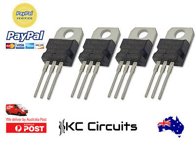 4pcs L7805CV L7805 LM7805 Voltage Regulator IC 5V 1.5A