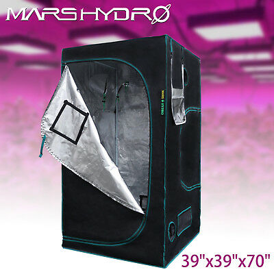 3'x3'x6' Indoor Grow Tent Room Reflective Mylar Hydroponic NonToxic Hut Home Box