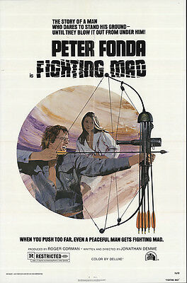 Fighting Mad 1976 Original Movie Poster Action Drama