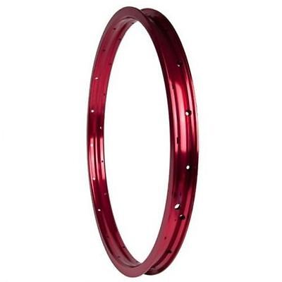 "Cult Match BMX Rim 36H - Red 20"" Bike Rim"