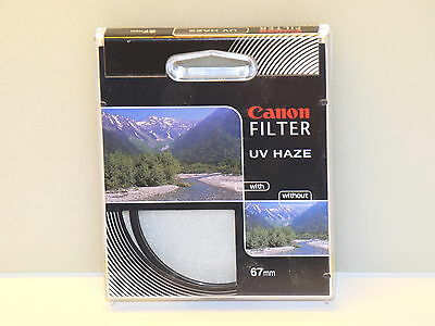 Genuine Canon 2598A003AA 67mm UV Haze Lens Filter NEW
