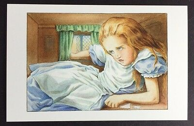 Alice In Wonderland POSTCARD Lewis Carroll JOHN TENNIEL Growing GIANT Large AW61