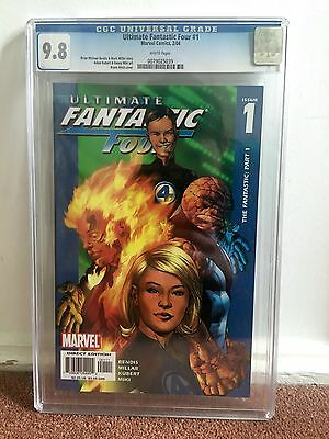 Ultimate Fantastic Four #1 CGC 9.8 Marvel Comics 2004 Cover A 1st Print
