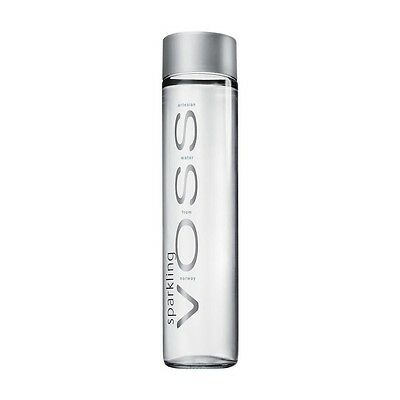 VOSS Sparkling Water - Glass Bottle - 375ml