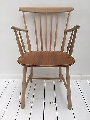 FARSTRUP DANISH MID CENTURY WOODEN CHAIR VINTAGE RETRO (London - can deliver)