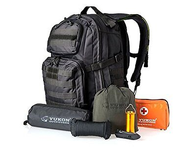 Yukon Outfitters Alpha 58-Piece Survival Kit - Black