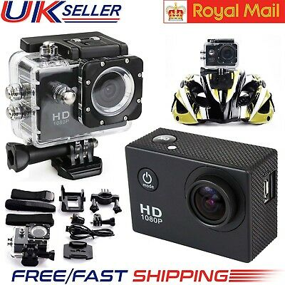 Waterproof Sports Camera Action SJ4000 1080P Mini DV Video Helmet DVR Cam UK