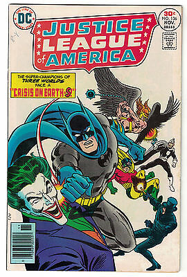 DC Comics JUSTICE LEAGUE OF AMERICA The World's Greatest Superheroes No 136 VF