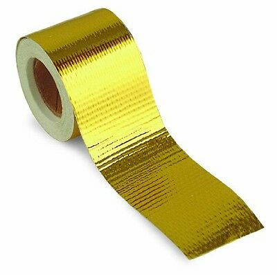"""Design Engineering DEI 010394 Reflect-A-GOLD 1.5"""" x 15' Tape Roll"""