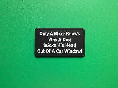 BIKER SLOGAN MESSAGE SEW ON IRON ON PATCH: PATCH NUMBER 3069